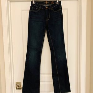 NEW! 7 For All Mankind Mid Rise Bootcut Jeans